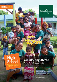Projects Abroad Leaflet - High School Specials