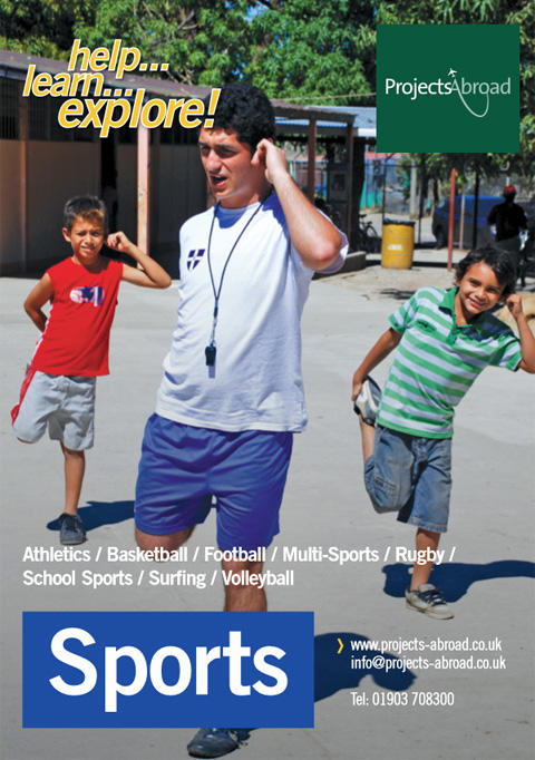 Projects Abroad Leaflet - Sports