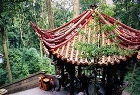 A traditional Chinese structure