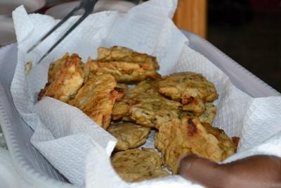 Jamaican Salt fish Fritters