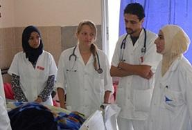 Midwifery Elective volunteers discuss their work on a placement in Morocco