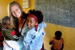 A Care & Community volunteer spends her high school vacation helping local children and the community in Tanzania.