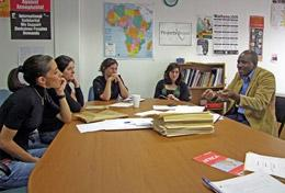 High school students doing a Human Rights internship in South Africa learn all about the local legal system from a professional lawyer.