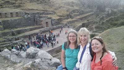 Projects Abroad Grown-up Special volunteers on a Care and Community project enjoy sightseeing during their free time in Peru