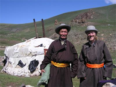 Volunteer in Mongolia